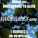 Andres Gil Whispering to Alien (Remixes)