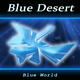 Blue Desert Blue World