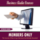 Business Audio Courses Members Only - the Secrets Of Running a Membership Website Revealed