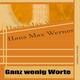 Hans Max Werner - Ganz wenig Worte