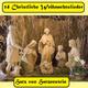 Hatz von Hatzenstein 14 christliche Weihnachtslieder