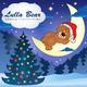 Lulla Bear Merry Christmas