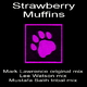 Mark Lawrence Strawberry Muffins