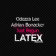 Odezza Lee & Adrian Bonacker Just Begun