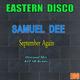 Samuel Dee September Again