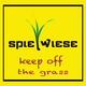 Spielwiese Keep Off the Grass