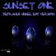 Sunset One Tiefblauer Himmel Edit Versions