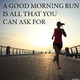 Various Artists A Good Morning Run Is All That You Can Ask For
