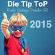 Various Artists Die Tip Top Kinder Faschings Granaten Hits 2015