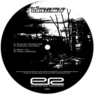 Various Artists - Earth On Fire EP (Elementz Records XT002)