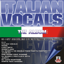 Italian Vocals the Album VOL. 1