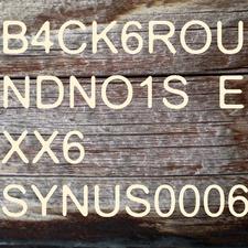 B4ck6roundno1se Xx6