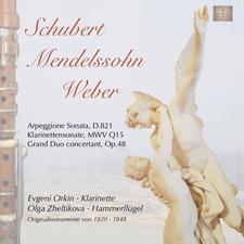 Klarinettenwerke von Franz Schubert, Felix Mendelssohn Bartholdy und Carl Maria von Weber