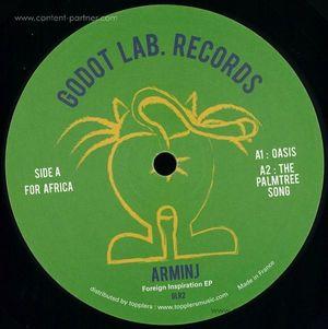 Arminj - Foreign Inspiration Ep (Godot Lab Records)