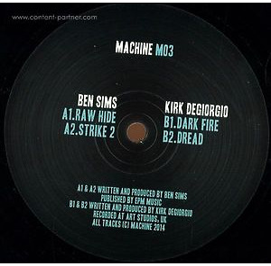 Ben Sims & Kirk Degiorgio - M03 (Machine)
