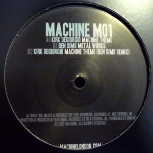 Ben Sims / Kirk Degiorgio - Machine (Machine)