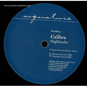 Calibre - Mr Maverick / Highlander (Vinyl Only)
