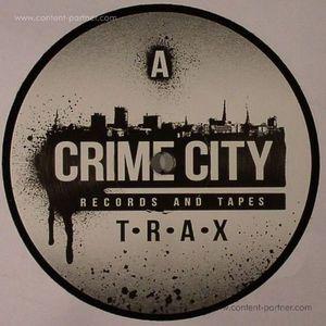 Crime Scene - CRIME CITY TRAX (BLACK VINYL) (Crime City)