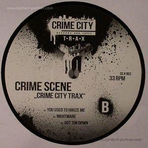 Crime Scene - CRIME CITY TRAX (BLACK VINYL)