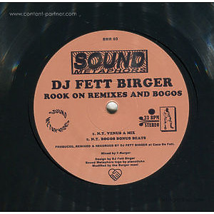 DJ Fett Birger - Rook On Remixes And Bogos (Sound Metaphors)