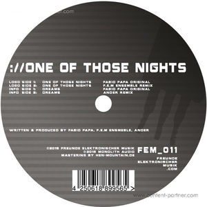 Fabio Papa - One of Those Nights