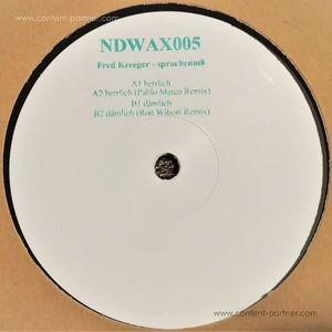 Fred Kreeger - sprachenm8 (incl. Pablo Mateo/Ron Wilson (Night Defined Recordings)