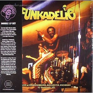 Funkadelic - Live  - MEADOWBROOK, ROCHESTER, MICHIGAN (Tidal Waves Music)