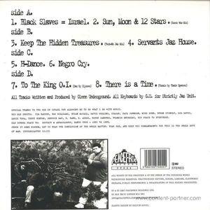 Glenn Underground - The Jerusalem EP's (Ltd. Reissue)