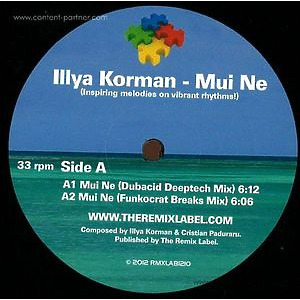 Illya Korman - Mui Ne (Christian Paduraru Remix) (the remix label)