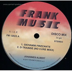 Johannes Albert - Giovanni Frizzante (Prins Thomas Diskomi (frank music)