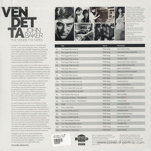 John Baker & The BBC Radiophonic Work... - The Vendetta Tapes