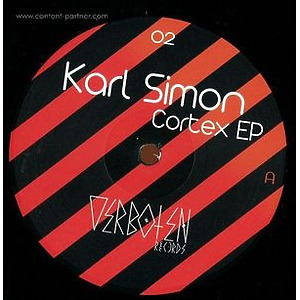 Karl Simon - Cortex EP (black vinyl) (verboten records)