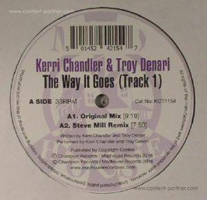 Kerri Chandler & Troy Denari - The Way It Goes (track 1) (madhouse)