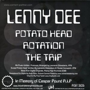 Lenny Dee - Potato Head Ep'