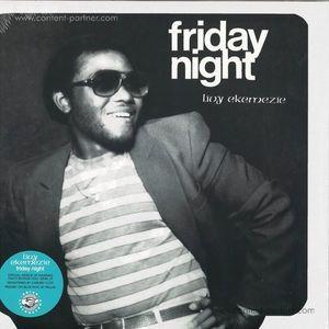 Livy Ekemezie - Friday Night (Blue Vinyl LP) (Odion Livingstone)