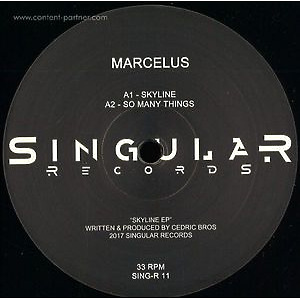 Marcelus - Skyline EP (Singular records)