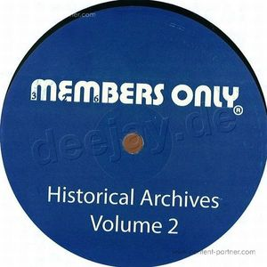 Members Only #2 - Whats It/and Dance (Back in) (Members Only)