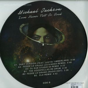 Michael Jackson Picture Disco - Love Never Felt So Good