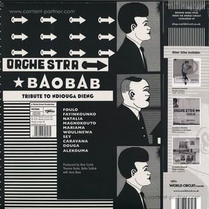 ORCHESTRA BAOBAB - Tribute To Ndiouga Dieng (LP+MP3)