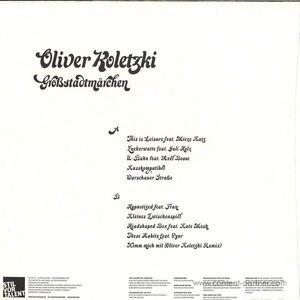 Oliver Koletzki - Grostadtmärchen