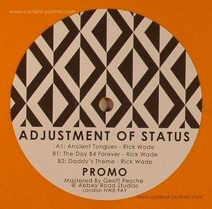 Rick Wade - Adjustment Of Status EP (landed records)