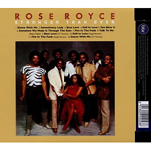 Royce,Rose - Stronger Than Ever (Expanded+Remastered
