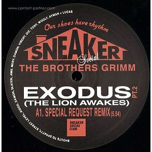 The Brothers Grimm - Exodus (the Lion Awakes) Special Request (Sneaker Social Club)