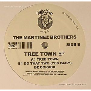The Martinez Brothers - Tree Town Ep (Handnumbered, LTD)