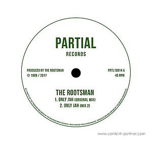 The Rootsman / Jah Meek - Only Jah- / Jah Lifted Me Up (Partial Records)