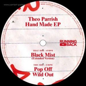 Theo Parrish - Hand Made Ep (back in stock) (running back)