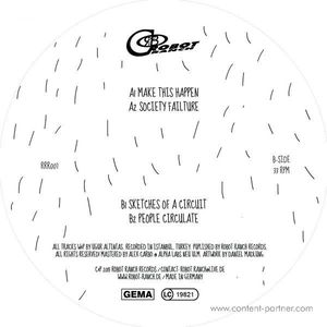 Ugur Project - Make This Happen EP