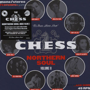 "Various Artists - Chess Northern Soul Vol. 2 (Ltd. Ed. 7""  (Island)"