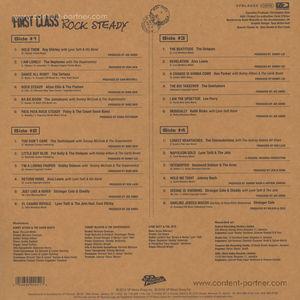 Various Artists - First Class Rocksteady (2LP-Set)