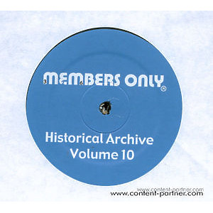 Various Artists - Historical Archives Volume 10 (Back in) (Members Only)